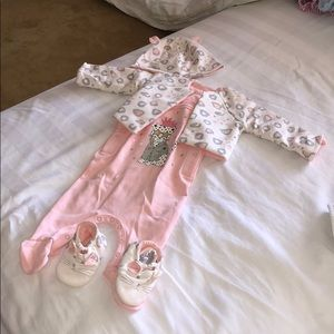 Marc Jacobs Baby Girl Matching Set